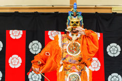 Gagaku Play in Kyoto Royalty Free Stock Photos