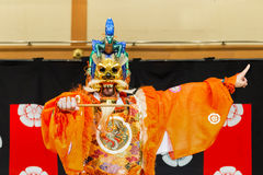 Gagaku Play in Kyoto Royalty Free Stock Photography