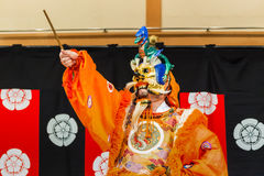 Gagaku Play in Kyoto Stock Images