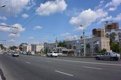 Gagarin gata Fotografering för Bildbyråer