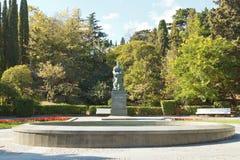 Gagarin Primorskiy Park in Yalta Stock Photography