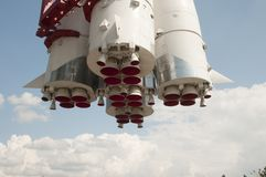 Gagarin spaceship model in Moscow Stock Images