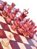 Gage d'échecs photographie stock
