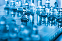 Gage d'échecs photo stock