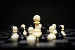 Gage d'échecs pour le fond ou la texture de chef Photographie stock libre de droits