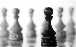 Gage de pièce d'échecs à bord Photographie stock libre de droits