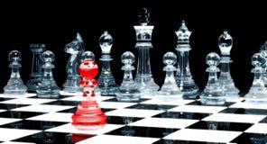 Gage rouge - échecs illustration de vecteur