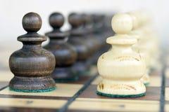 Gages d'échecs Photo libre de droits