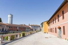 Gaggiano (Mailand) Stockfotografie