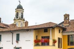 Gaggiano Mediolan, Włochy (,) Zdjęcie Royalty Free