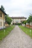 Gaggiano Mediolan, Włochy (,) Fotografia Royalty Free