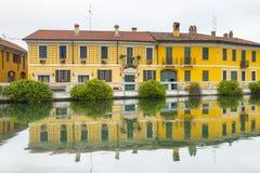 Gaggiano (Milão, Itália) Imagem de Stock Royalty Free