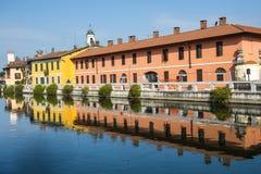Gaggiano (Milan) Photographie stock libre de droits
