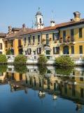 Gaggiano (Milan) Photographie stock