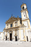 Gaggiano (Milan), historic church Royalty Free Stock Image