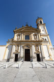 Gaggiano (Milan), historic church Royalty Free Stock Photography