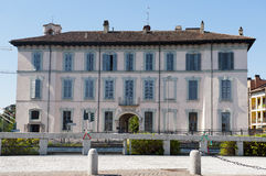 Gaggiano (Milan), historic palace Royalty Free Stock Photo