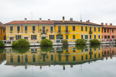 Gaggiano (Milan, Italien) Royaltyfri Foto