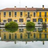 Gaggiano (Milan, Italien) Royaltyfria Bilder
