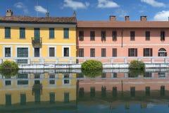 Gaggiano (Milan, Italy) Royalty Free Stock Photos