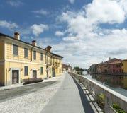 Gaggiano (Milan, Italy) Stock Photography