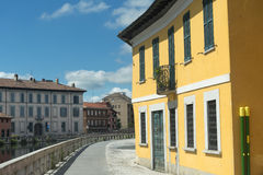 Gaggiano (Milan, Italy) Royalty Free Stock Photography