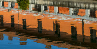 Gaggiano (Milan), reflection Royalty Free Stock Image
