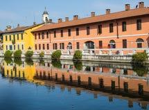 Gaggiano (Milano) Immagine Stock