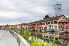 Gaggiano (Milano, Italia) Immagine Stock