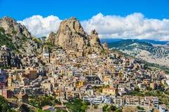 Gagliano Castelferrato Sicilia Fotografía de archivo