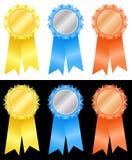 gagnant de 5 rosettes s illustration libre de droits