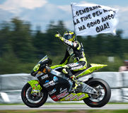 Gagnant de Brno ¨Moto2 Andrea Iannone Images stock