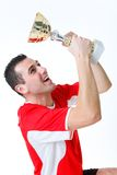 Gagnant de championnat photo stock