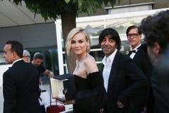 Gagnant de Diane Kruger de la récompense pour la meilleure actrice Photo stock