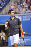 Gagnant de Djokovic de la cuvette de Rogers 2012 (3) image stock