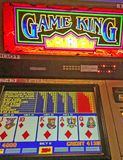 Gagnant de machine à sous de casino Images stock