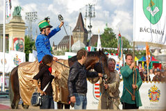 Gagnant national 2009 de galop Images stock