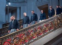 Gagnants de la trente-troisième de l'excursion de victoire de la cuvette Amérique Photographie stock