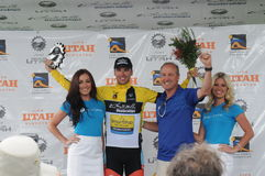 Gagnants et sponsors Photos stock