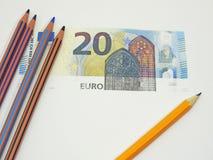 Gagner le faux argent Photo libre de droits