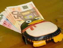 Gagnez l'argent avec des oss Photo libre de droits