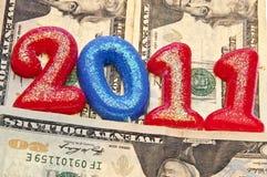 Gagnez plus d'argent en 2011 photo libre de droits