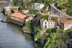 Gaia Riverside en Portugal fotografía de archivo libre de regalías