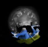 Gaia - spirito della terra fotografia stock libera da diritti