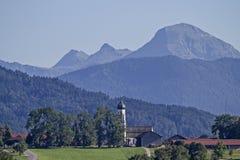 Gaißach - Village in Isarwinkel Stock Photo