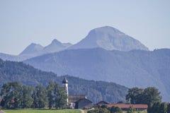 Gaißach - Village in Isarwinkel Royalty Free Stock Photo