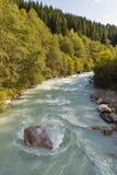 Gail River in Western Carinthia, Austria Stock Photo