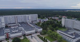 Gailezers-Krankenhausbrummen medizinisch, Gesundheit, Medizin, Hilfe, Notfall, Krankenwagen, Gesundheitswesen stock video
