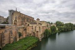 Gaillac,法国 免版税库存图片