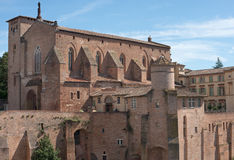 Gaillac Cathedral Royalty Free Stock Images
